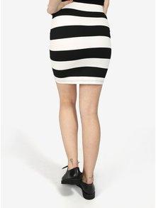 Čierno-biela pruhovaná sukňa Haily's Lola