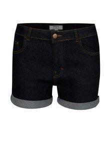 Pantaloni scurti din denim albastri cu talie clasica Dorothy Perkins