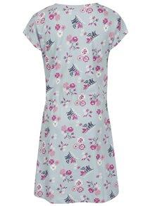 Modré dievčenské šaty s potlačou name it Viga