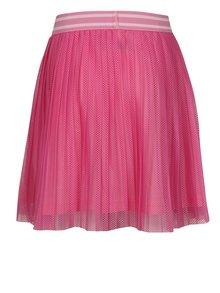 Ružová dievčenská plisovaná sukňa name it Iwtex