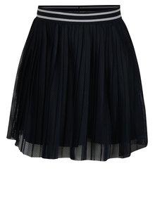 Tmavomodrá dievčenská plisovaná sukňa name it Iwtex