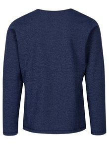 Bluza albastra slim fit pentru barbati - s.Oliver