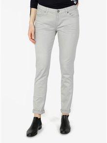 Šedé dámské slim fit džíny s nízkým pasem QS by s.Oliver