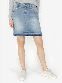 Modrá rifľová sukňa s.Oliver