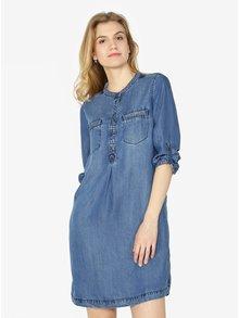 Modré džínové košilové šaty s.Oliver