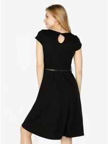 Černé šaty s páskem. QS by s.Oliver