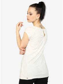 Krémové dámske tričko s potlačou Ragwear Sofia