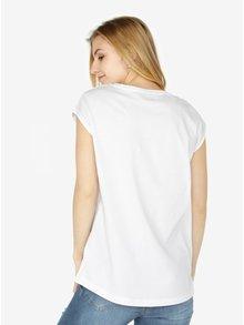 Biele dámske tričko bez rukávov Calvin Klein Jeans Tika