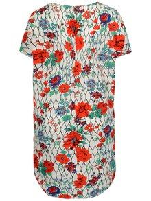 Krémové šaty s kvetinovým vzorom La Lemon
