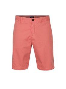 Pantaloni chino scurti roz pentru barbati - Superdry