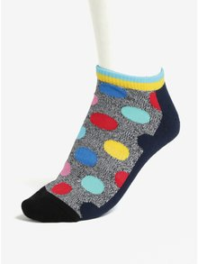 Sosete multicolore cu model buline pentru barbati - Happy Socks Athletic Big Dot