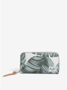 Béžová peňaženka s potlačou Herschel Thomas