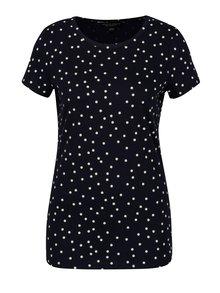 Tricou bleumarin cu print buline - Dorothy Perkins
