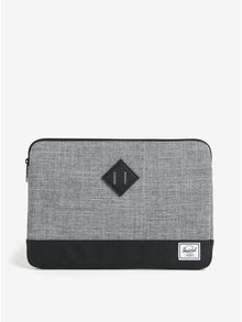 "Husa gri&negru pentru laptop de 13"" - Herschel Heritage"