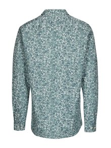 Camasa din bumbac cu print floral verde & alb -  Selected Homme One Sel