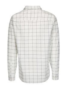 Camasa regular fit crem cu carouri - Selected Homme Two Grid