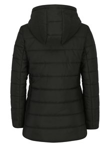Černá dámská prošívaná bunda s kapucí Jimmy Sanders