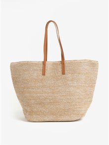 Geanta shopper maro deschis  Pieces Lana