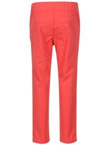 Růžové holčičí softshellové voděodolné kalhoty Reima Idole