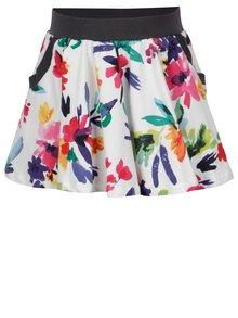 Bílá holčičí květovaná sukně BÓBOLI