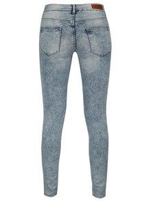Modré dámské plísňové skinny džíny Cars Tyra