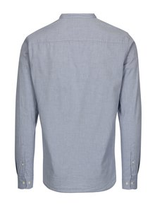 Camasa slim fit bleu cu guler tunica -  Jack & Jones Kevin