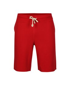 Pantaloni scurti sport rosii cu snur in talie - Jack & Jones Colour