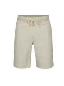 Pantaloni scurti sport crem cu snur in talie - Jack & Jones Colour