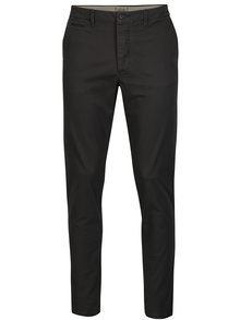 Pantaloni chino slim fit gri inchis - Jack & Jones Marco