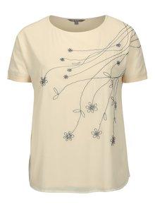 Telové tričko s výšivkou Ulla Popken