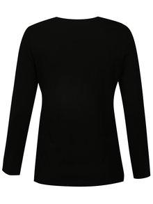 Bluza basic neagra Ulla Popken