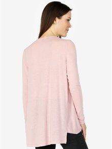 Bluza oversized roz deschis cu drapaje - VERO MODA Luna