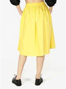 Žltá sukňa VERO MODA Ladina