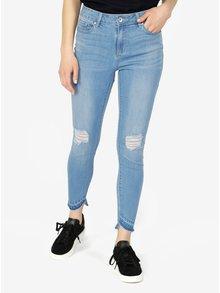 Světle modré slim fit džíny VERO MODA Seven
