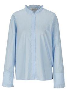 Světle modrá košile s volány Scotch & Soda