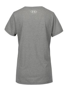 Sivé dámske funkčné tričko s potlačou Under Armour Siro Graphic