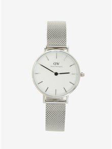 Dámské hodinky ve stříbrné barvě Daniel Wellington