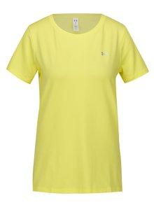 Žlté dámske funkčné tričko Under Armour HeatGear