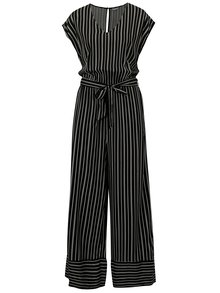 Salopeta negru&alb in dungi Jacqueline de Yong Cilja