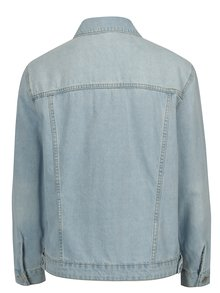 Jacheta bleu din denim cu aspect deteriorat -  Dorothy Perkins