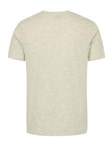 Svetlosivé melírované tričko s potlačou ONLY & SONS Sylvester