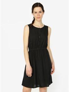 Černé šaty bez rukávů VERO MODA Boca
