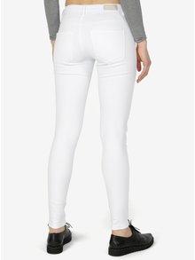 Bílé skinny džíny ONLY Royal