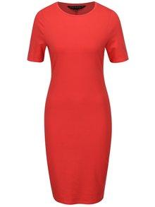 Červené pouzdrové šaty Dorothy Perkins