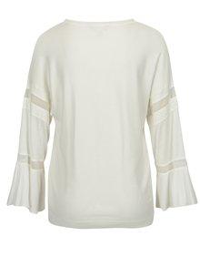 Krémový tenký sveter so zvonovými rukávmi Dorothy Perkins