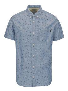 Camasa albastra cu guler button down si buzunar la piept - Jack & Jones Premium Murtough
