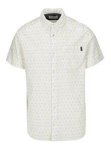 Krémová vzorovaná košile Jack & Jones Premium Murtough