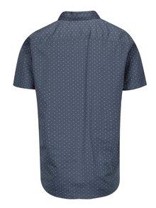 Tmavě modrá vzorovaná košile Jack & Jones Premium Jamie