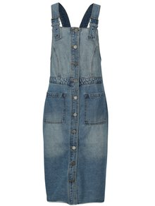 Modré džínové šaty s laclem Noisy May Jenny