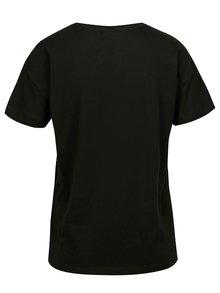 Tricou negru cu print rock Noisy May Metallica